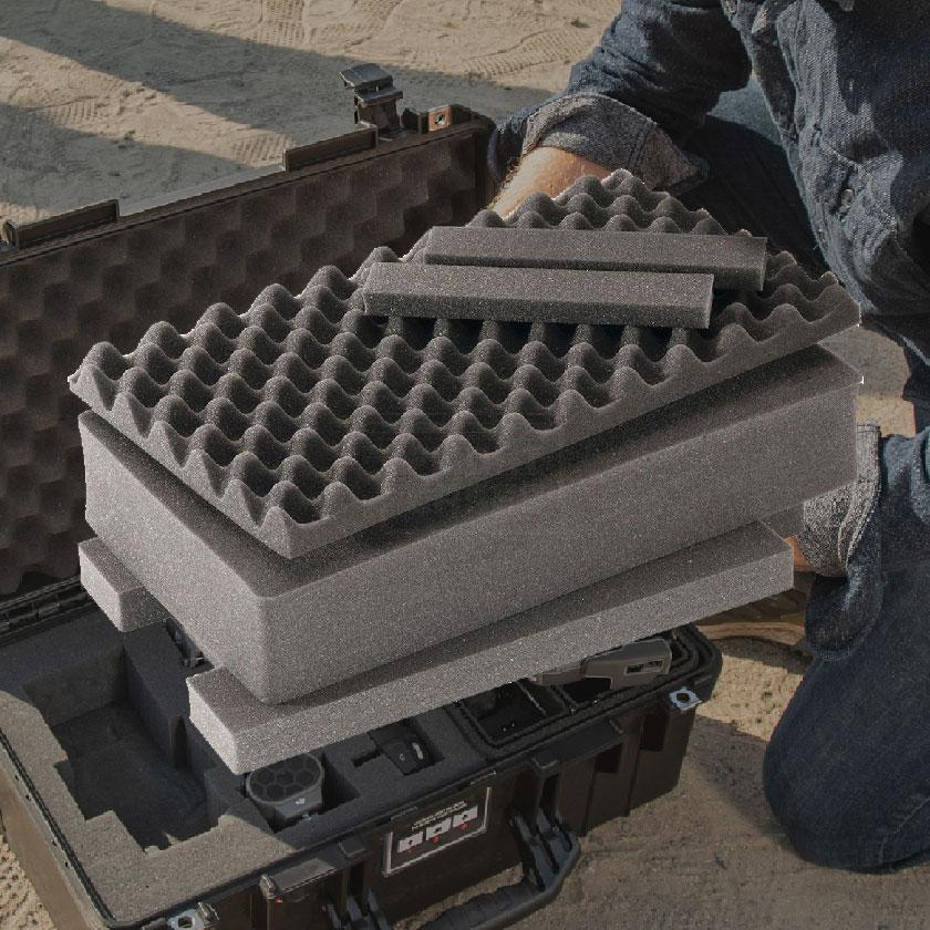 Ersatz-Schaumstoff-Sets für Peli Koffer