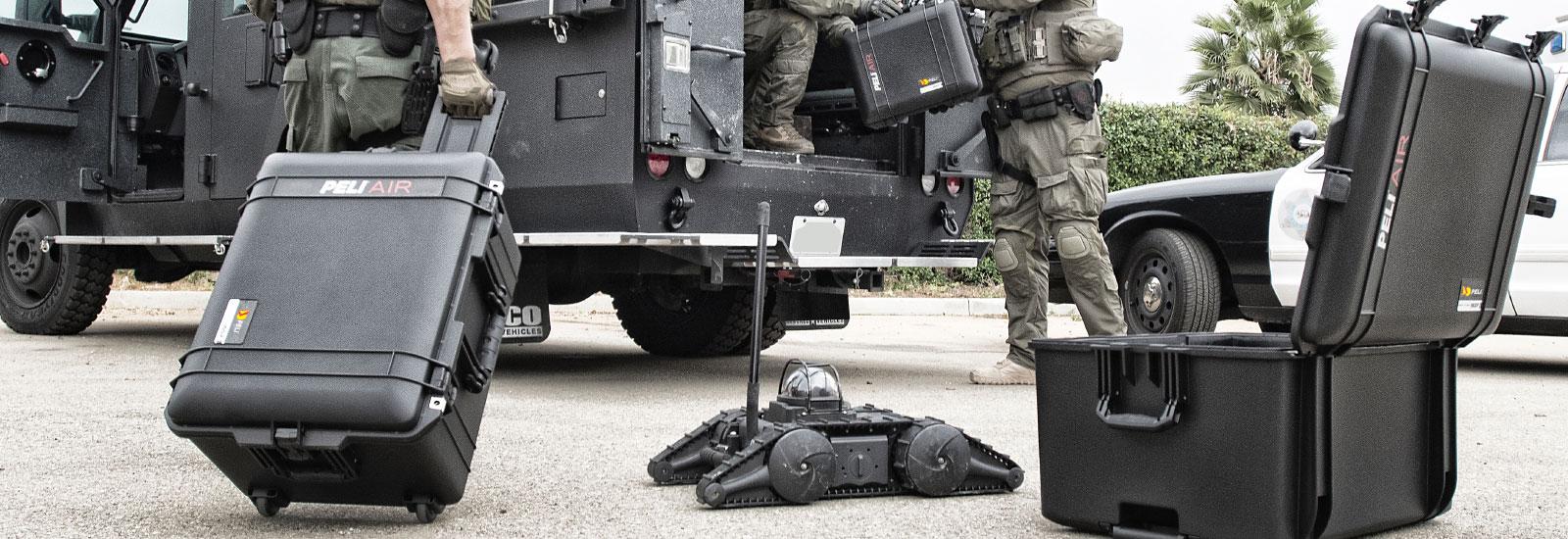Militärische Koffer