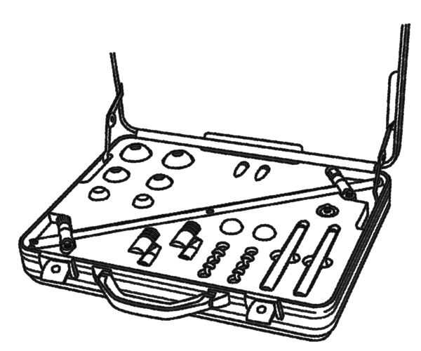 Schaumstoffeinsätze für Koffer