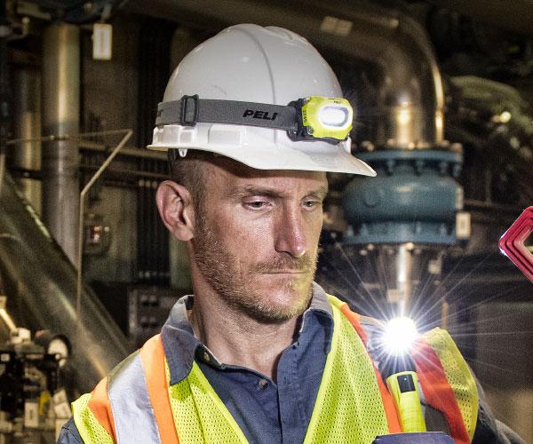Stirnlampen & Industrieleuchten