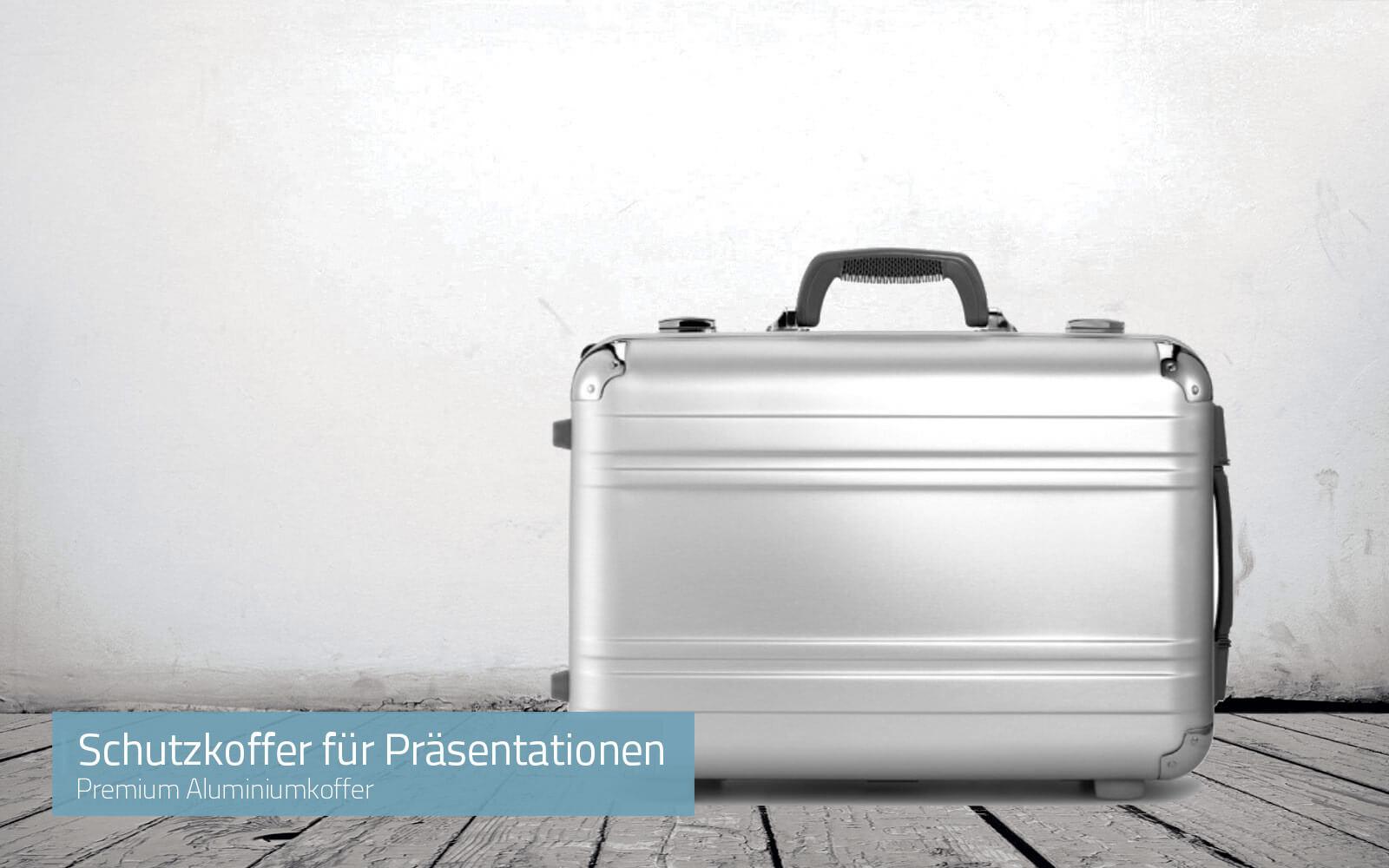 Premium Koffer für Präsentationen