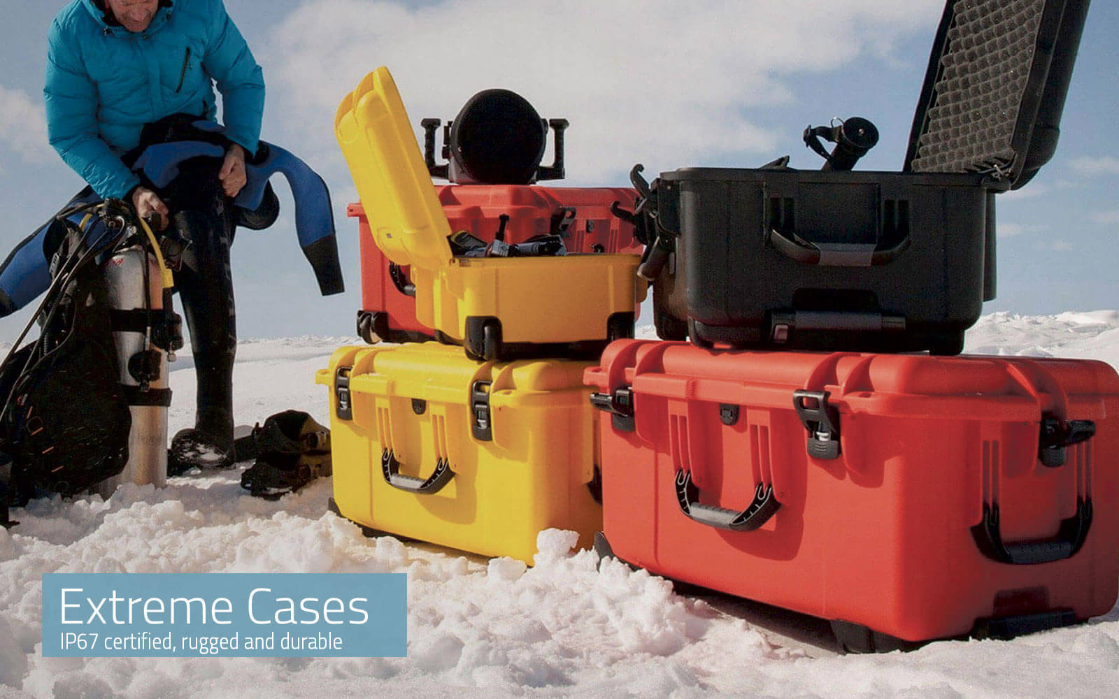 Extreme Cases Suitcases for every requirement