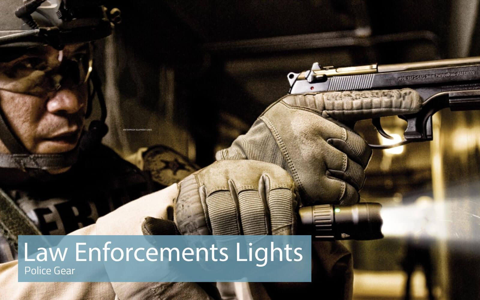 Peli Law Enforcements Lights