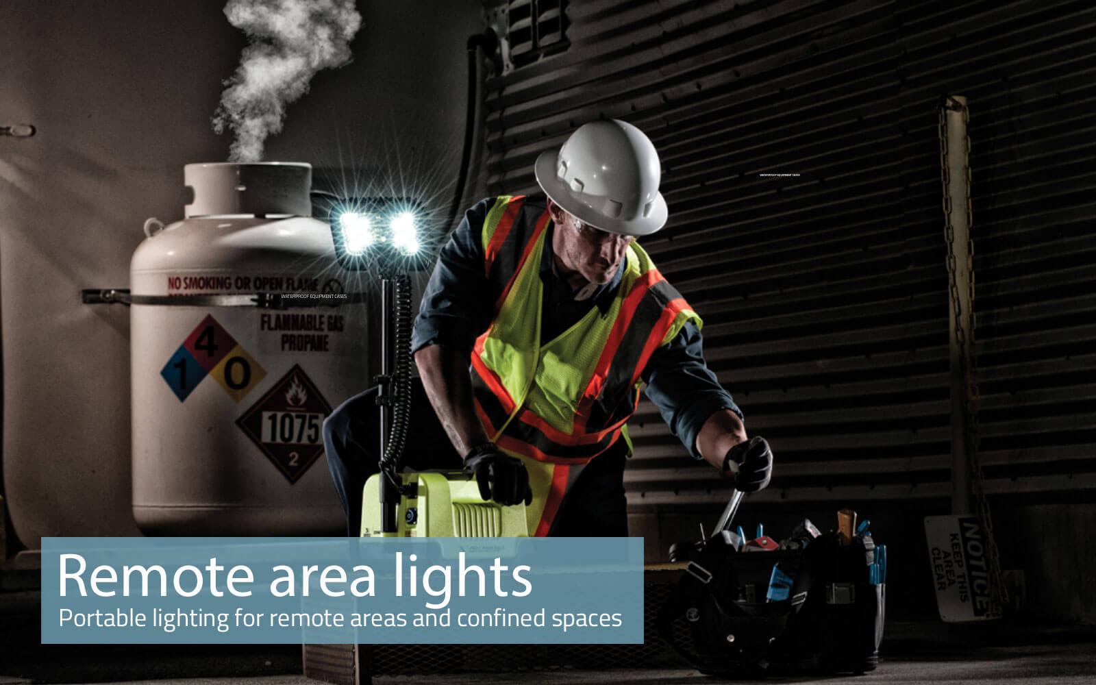Peli Remote area lights